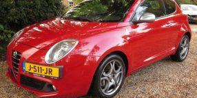 Alfa Romeo Mito 1.4 Turbo QV 170 PK Alcantara lederen bekleding
