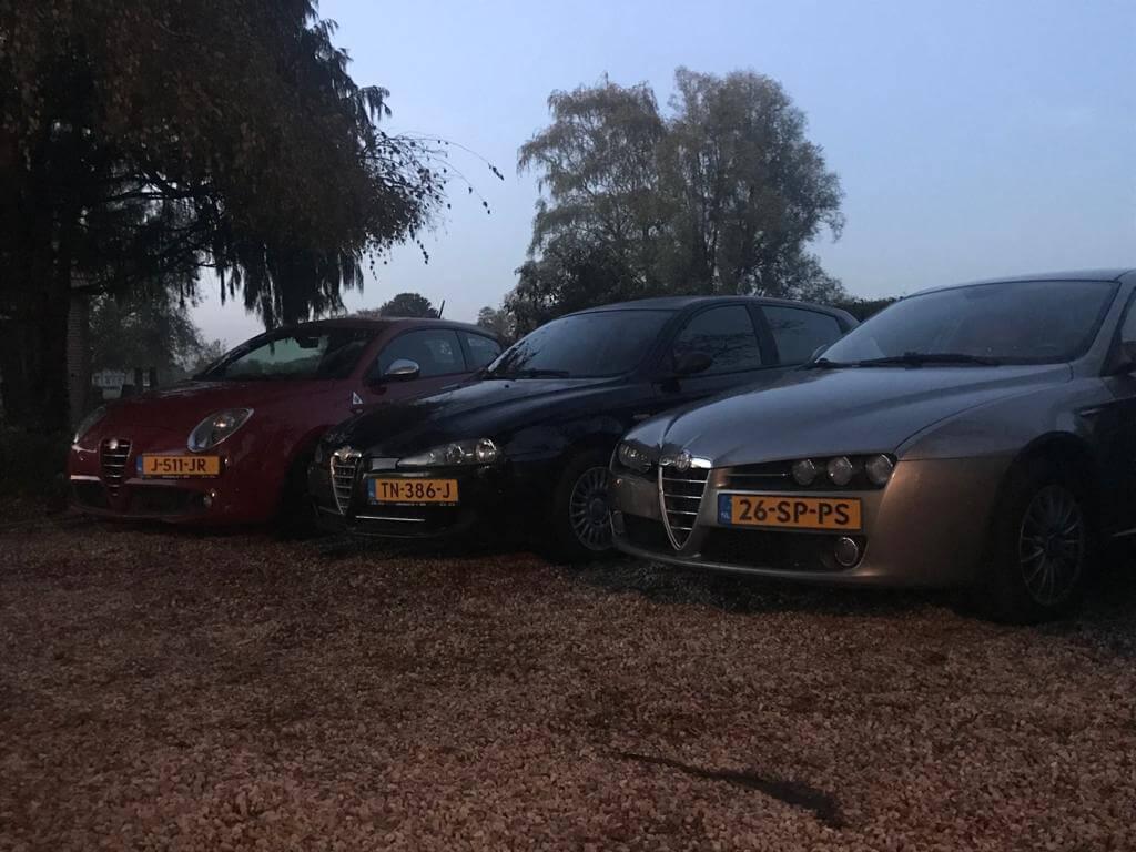 Alfra Romeo auto's