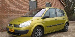 Renault Megane Scenic AUTOMAAT 1.6 16V 113 PK – ZEER NETJES