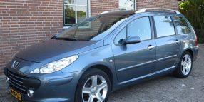 Peugeot 307 SW 2.0-16V XSI sport interieur – meest luxe uitvoering